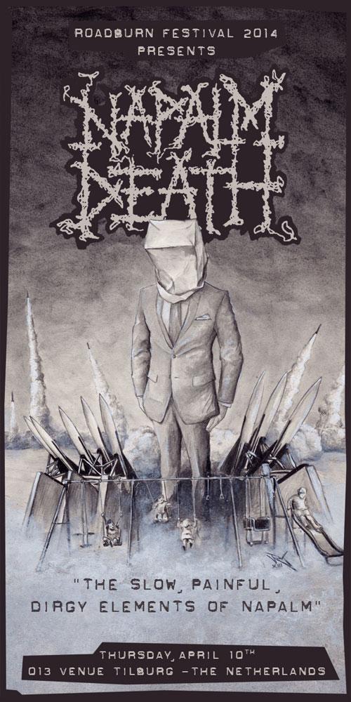 Roadburn 2014 - Napalm Death