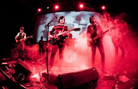 The Warlocks - Photo by Leslie Kalohi