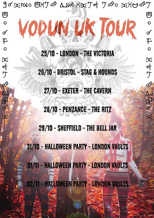 Vodun - UK Tour 2013