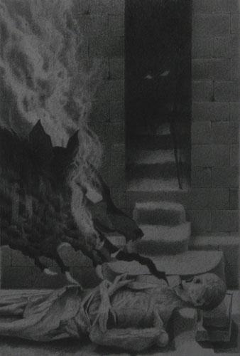Coltsblood / Crypt Lurker - Artwork