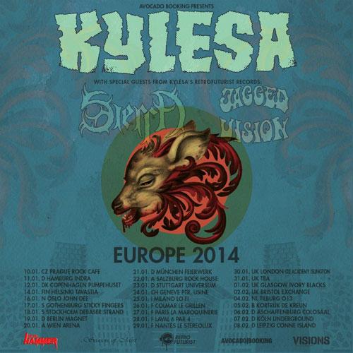 Kylesa Euro Tour 2014