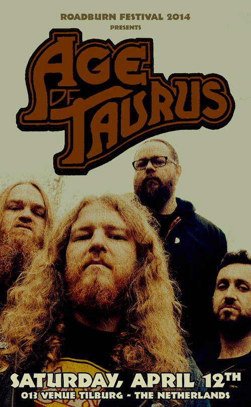 Roadburn 2014 - Age Of Taurus