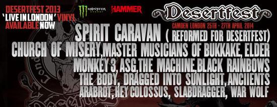DesertFest 2014 London