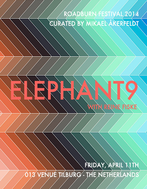 Roadburn 2014 - Elephant9
