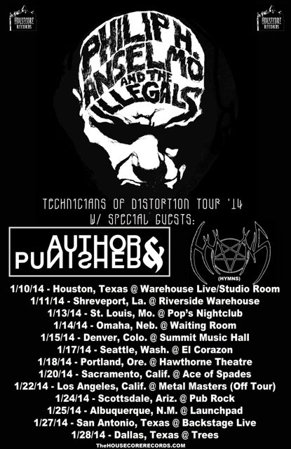 Technicians Of Distortion Tour 2014