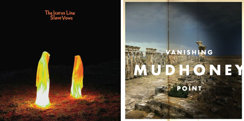 The Icarus Line & Mudhoney Album Artwork