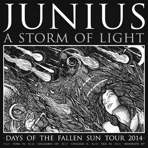 A Storm Of Light / Junius - US Tour 2014