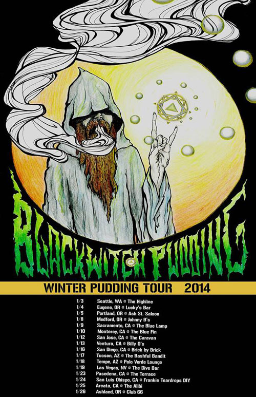 Blackwitch Pudding - US Tour 2014