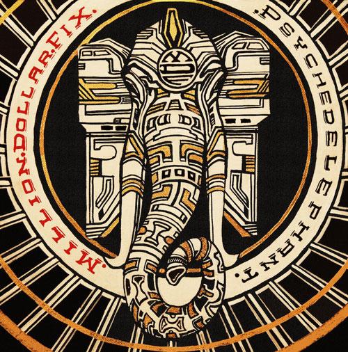 Million Dollar Fix 'Psychedelephant' Artwork