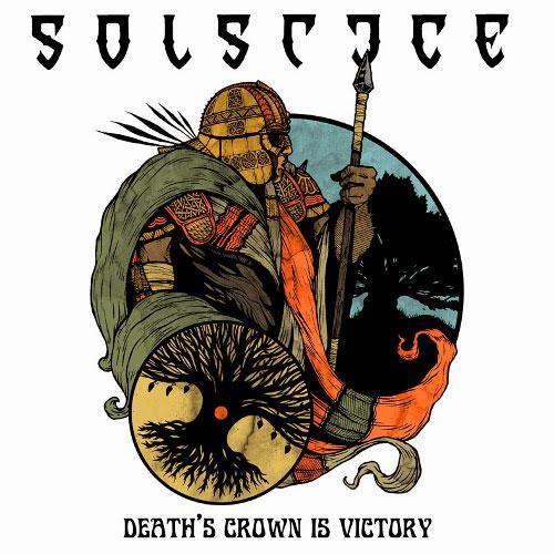 Solstice 'Death's Crown Is Victory' Artwork