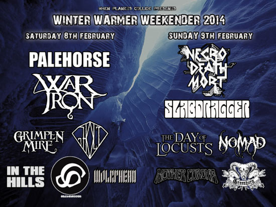 When Planets Collide 'Winter Warmer Weekender' 2
