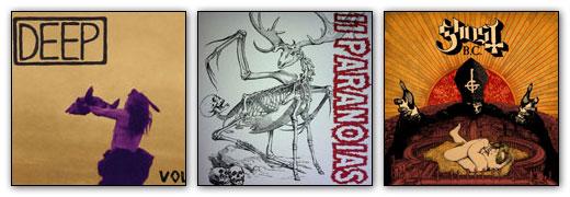 Deep / 11Paranoias / Ghost B.C. - Artwork