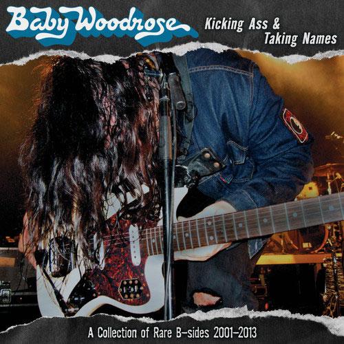 Baby Woodrose 'Kicking Ass & Taking Names' Artwork