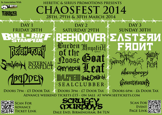 ChaosFest 2014