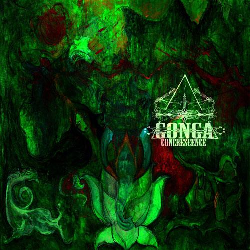 Gonga 'Concrescence' Artwork