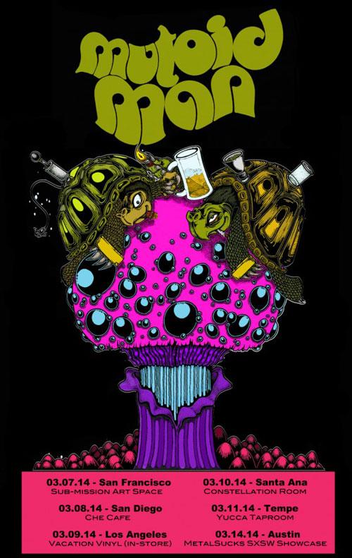 Mutoid Man - US West Coast Tour 2014