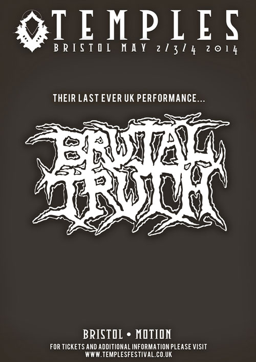 Temples Festival - Brutal Truth