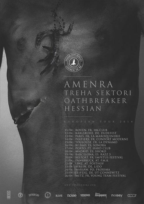 Amenra- Euro Tour 2014