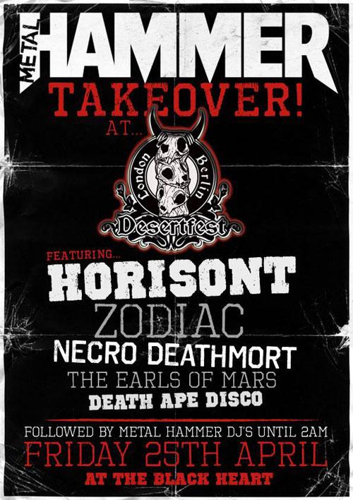DesertFest London 2014 - Metal Hammer Takeover