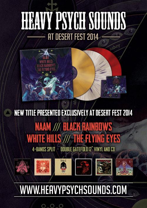 Heavy Psych Sounds - DesertFest Split