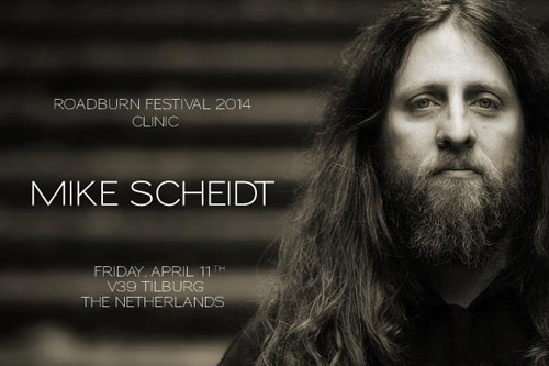 Roadburn 2014 - Clinic with Mike-Scheidt