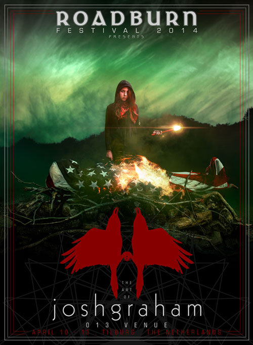 Roadburn 2014 - Josh Graham