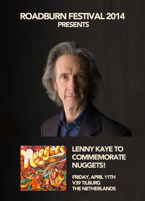 Roadburn 2014 - Lenny Kaye