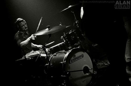 Buried Sleeper @ Audio, Glasgow 23/04/2014 - Photo by Alan Swan