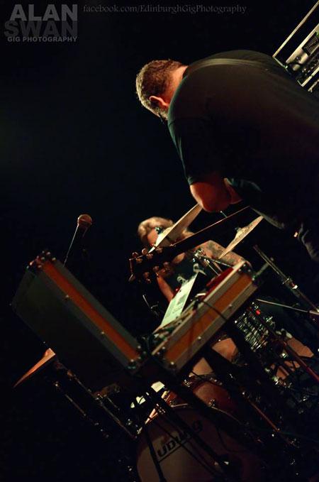 The Body @ Audio, Glasgow 23/04/2014 - Photo by Alan Swan