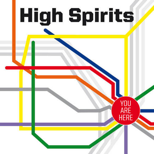 High Spirits 'You Are Here' Artwork