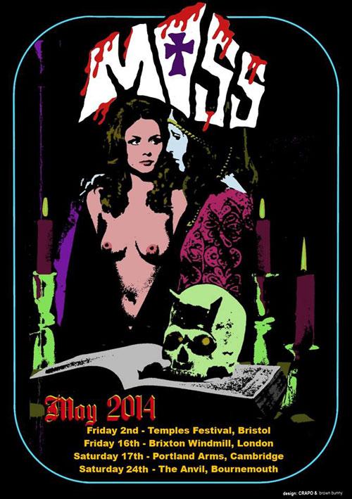 Moss - UK Tour 2014