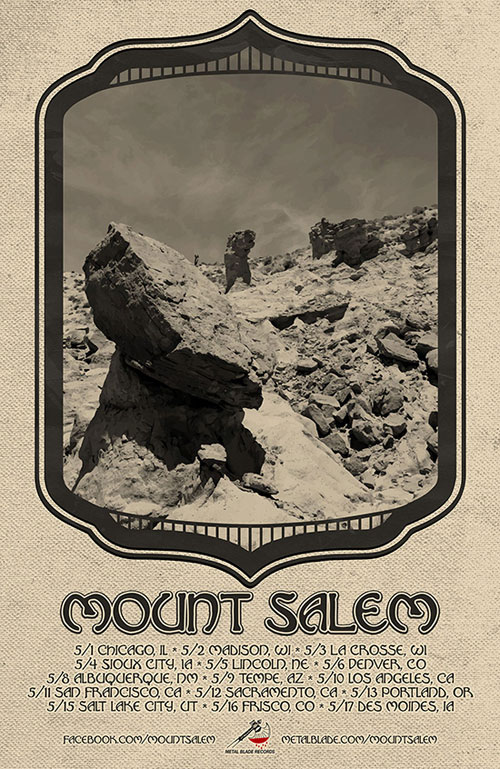 Mount Salem - US Tour 2014