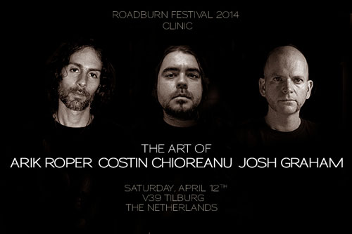 Roadburn 2014 Clinic - The Art of Arik Roper, Costin Chioreanu and Josh Graham