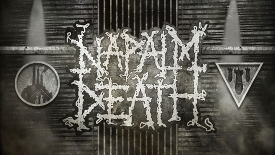 Roadburn 2014 - Napalm Death - Costin Chioreanu Visual