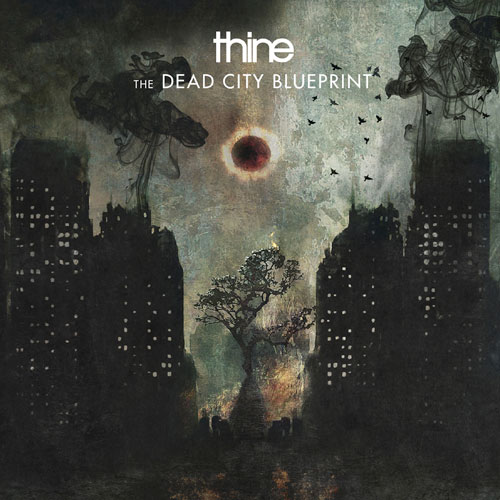 Thine 'The Dead City Blueprint' Artwork