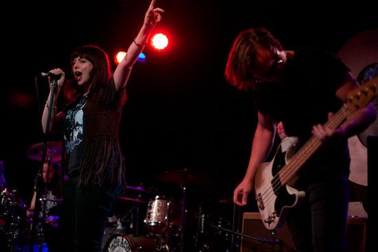 Black Moth @ G2, Glasgow 24/04/2014 - Photo by Alex Woodward
