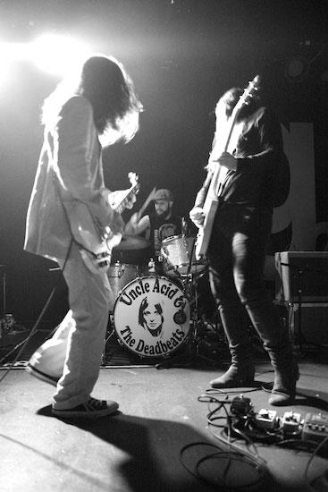 Uncle Acid & The Deadbeats @ G2, Glasgow 24/04/2014 - Photo by Alex Woodward