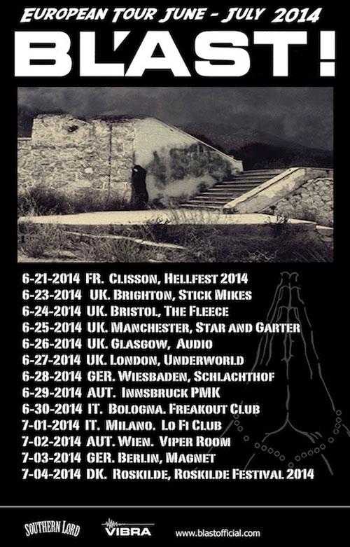 BL'AST! - Euro Tour 2014