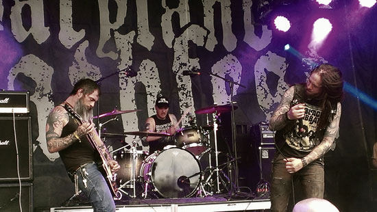 Maryland Deathfest 2014 - Graves At Sea