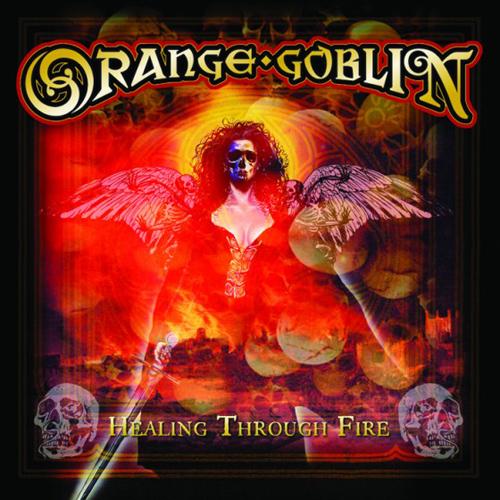 Orange Goblin 'Healing Through Fire' Artwork