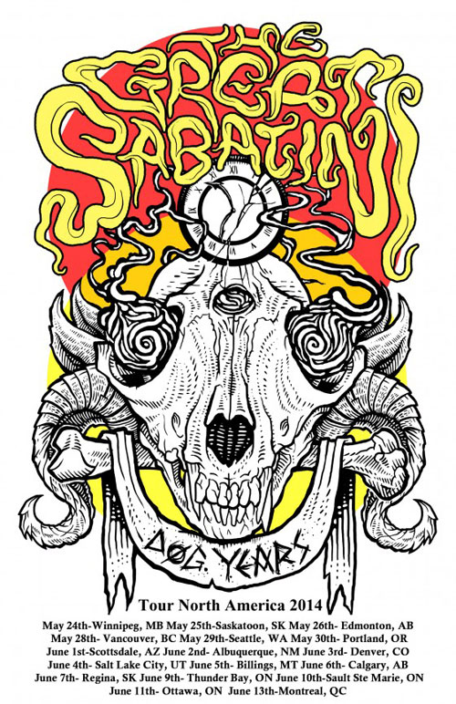 The Great Sabatini 'Dog Years' Tour 2014
