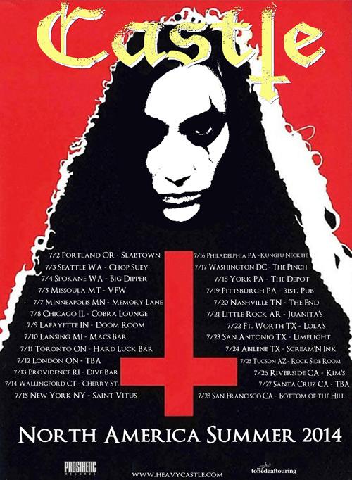 Castle - North America Tour 2014