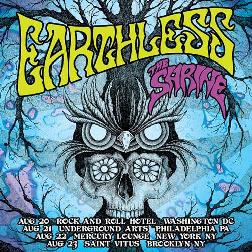 Earthess / The Shrine - East Coast US Tour 2014
