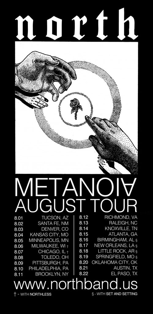 North - August US Tour 2014
