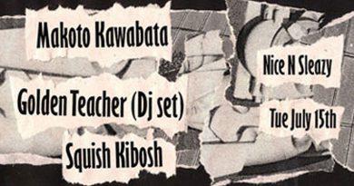 Kawabata Makoto @ Nice 'N' Sleazy, Glasgow 15/07/2014