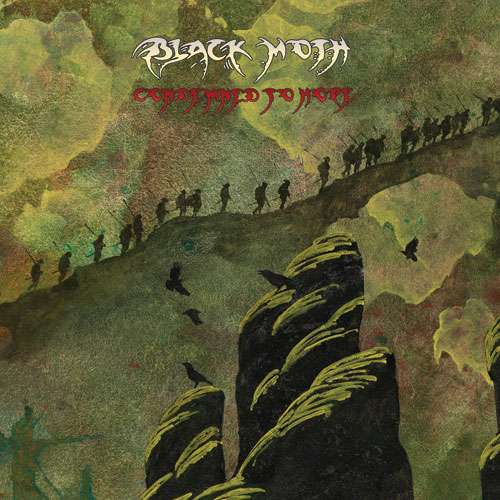 Black Moth 'Condemned To Hope' Artwork