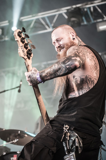 Hellfest 2014 - Black Tusk - Photo by Vivien Varga
