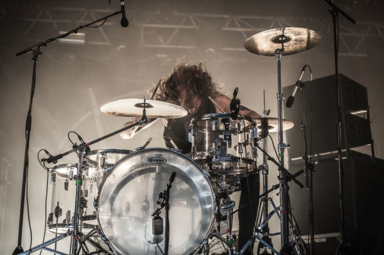 Hellfest 2014 - Kadavar - Photo by Vivien Varga