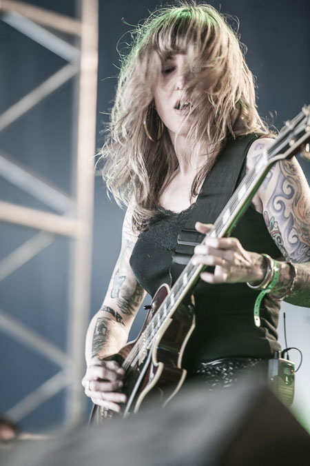 Hellfest 2014 - Kylesa - Photo by Vivien Varga