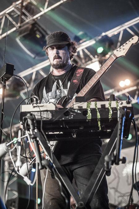 Hellfest 2014 - Kylesa - Photo by Vivien Varga